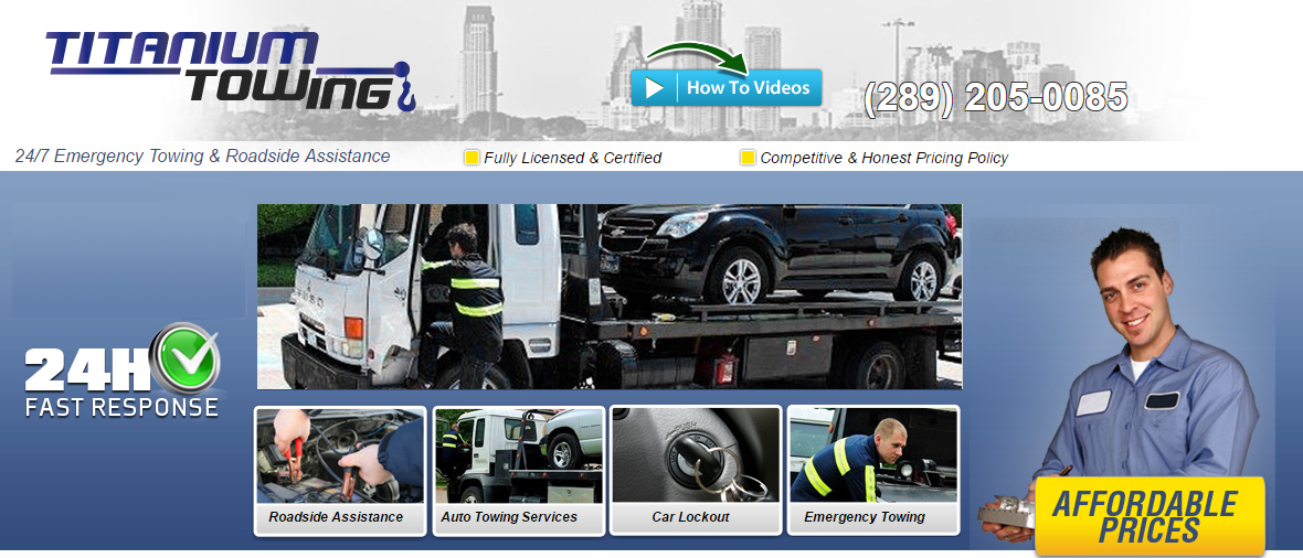 towing services in Mississauga